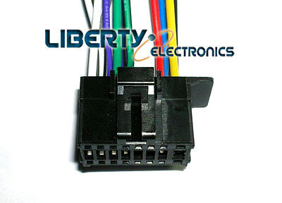 16 Pin Wire Plug Harness For Pioneer Dxt-x2769ui Player