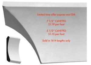 Crown Mouldings CAVETTO SUPER SALE $1.19  per foot
