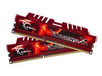 G.Skill 8GB DDR3 1600Mhz RipjawsX Memory (2 x 4Gb)