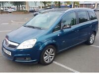 CHEAP VAUXHALL ZAFIRA 7 SEATER 2007 FOR QUICK SALE