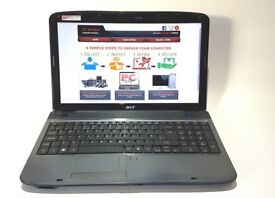 ACER 5738/ INTEL DUAL CORE 2.00 GHz/ 4 GB Ram/ 320 GB HDD - FREE DELIVERY!!!!