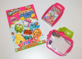 Shopkins Collector Set: Book, Trump Cards and Small Bag