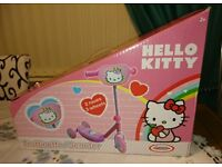 Girls Hello Kitty Todler's Scooter. 3 Wheels. Brand new in box. Age 2+