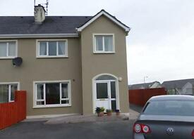 Holiday Home / House to let in Bundoran, Donegal. Wifi available