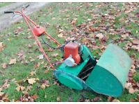 Suffolk Punch Traditional Petrol Roller Stripes Mower Self-Propelled Serviced