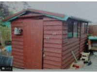 Garden shed 10x8 free to collector
