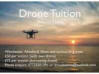 Practical and Fun Drone flying Tuition/Lessons (£50 per session)