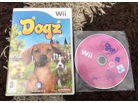 2x wii games littlest pet shop /dogz