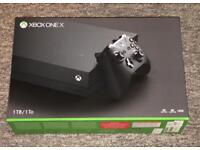 Xbox One X - Brand New & Unopened