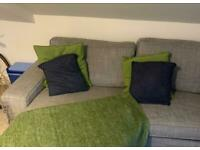 Sofa Cushions green and blue