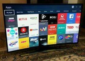 48in Curved Samsung 4K UHD SMART TV WI-FI FREEVIEW HD