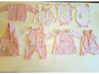 First size girls clothes bundle