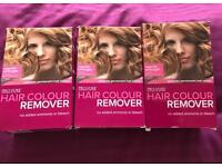 New, 3x box of hair colour remover