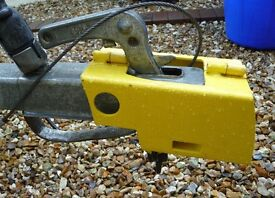 Trailer tow hitch Security Lock and padlock