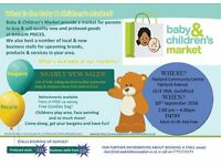 Baby & Children's Market NEARLY NEW SALE - Guildford