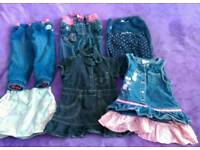 Girl's clothes 12-18mths