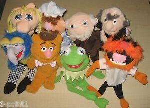 Werbefigur-Handpuppe-Muppets-Albert-Heijn-Holland-komplett-und-einzeln-ca-30-cm