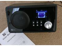 Ocean Digital Internet Radio + FM Radio + DLNA + UPnP media player WR-60