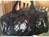 MONCLER DUFFLE BAG - BLACK - -BRAND NEW-
