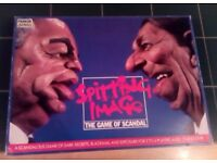 Spitting Image The Board game of Scandal by Parker - Boxed and complete, VGC