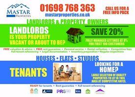 2-3 Bedroom Properties for Rent