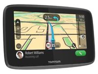 Tomtom go 520 Lifetime WORLD MAPS, TRAFFIC & SPEED CAM Updates! Wi-fi, Bluetooth (no sound)
