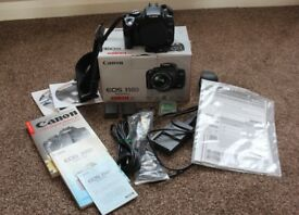 CANON 350 D DIGITAL CAMERA BODY AND ACCESSORIES