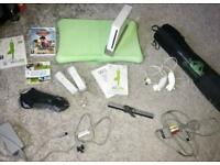 Wii Package including wii Fit with Balance Board & Yoga Mat