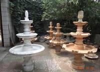 real marble hand carved water fountain on sale