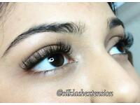 £40 Full set eyelash extensions 1:1 Classic. Russian Volume From £55