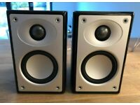 Mordaunt Short Alumni 2 Bookshelf Speakers Gloss Black (Pair) Mint condition