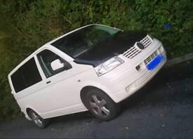 58 plate VW Transporter