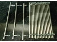 19 kitchen silver cabinet door handles