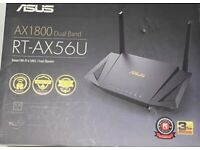 ASUS RT-AX56U AX1800 Wi-Fi 6 Router Dual-Band Mesh Wifi System 3G/4G Support