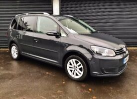 2014 VOLKSWAGEN TOURAN 1.6 TDI 105 SE BLUEMOTION TECH 7 SEATER NOT S-MAX QASHQAI+2 SHARAN ALHAMBRA
