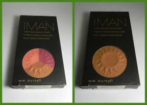 New, IMAN Sheer Finish Bronzing Powder, .35 oz (10 g)