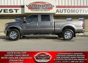 2014 Ford F-350 LARIAT CREW 4X4, POWERSTOKE, HARD LOADED, AS NEW