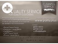 Patty PLUS - Experience Domestic Cleaner