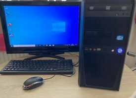 Desktop complete PC i3 intel Processor