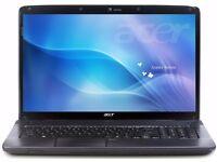 """Acer Aspire 7736G / 17"""" HD / 4GB RAM / 500GB HDD / Geforce G210M / Win 7"""