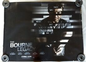 The Bourne Legacy quad movie poster