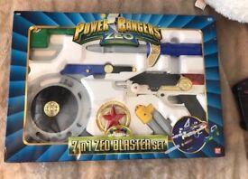 Power Rangers 7 in 1 Zeo Blaster Set 1996 unopened