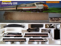 HORNBY INTERCITY 225 ELECTRIC TRAIN SET R696