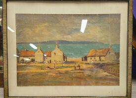 William Rennison Framed Antiqu Print