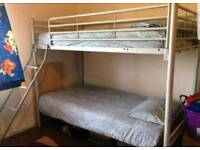Nice Bunk bed with mattresses (delivery available)
