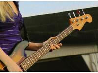 FEMALE BASSIST WANTED
