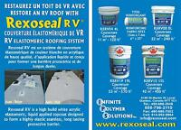REPAIR AN RV ROOF WITH REXOSEAL