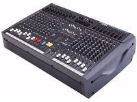 Soundcraft Spirit Powerstation 1200 Professional Mixer With Aluminium Flight Case