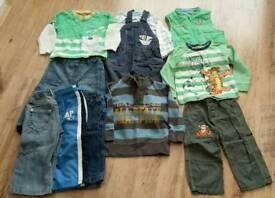 Boys clothing bundle age 12-18 mths