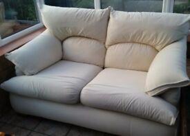 House of Fraser 2 Seater Sofa white